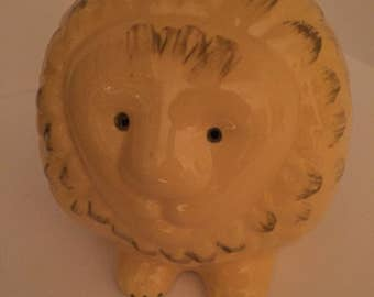 Lion coin bank made in Italy