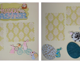 Pre-made Scrapbook Pages Happy Easter #10