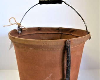 B&O Railroad Collapsible Canvas Bucket- Very Cool!