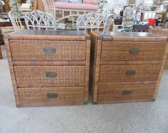Pair of Oversized Island Style Chests