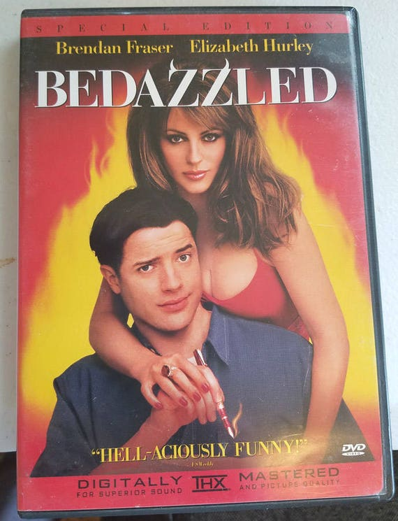 Bedazzled dvd funny comedy movie Brendan Frazer Elizabeth Hurley