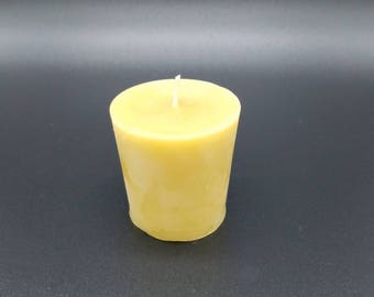 Votive Candle - 100% Pure Beeswax