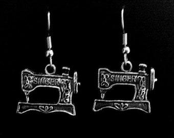 Sewing Machine Earrings - SALE