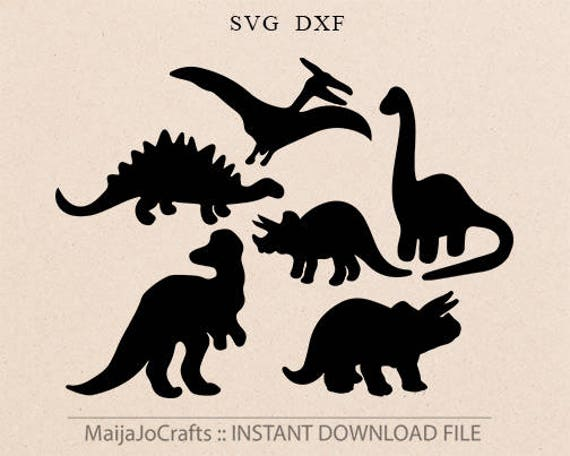 Download Dinosaurs SVG file Dinosaur svg files for Silhouette Animals