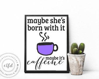 Woman Makeup Humor Quote 8x10 Typography Digital Print