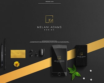 Premade Logo,Minimalist Logo,Custom Logo,Square Logo,Geometric Logo,Blog,Photography,Watermark,Business Logo,Modern,Interior Design, Jewelry