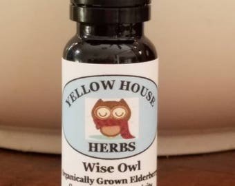 Wise Owl Elderberry and Sage Tincture