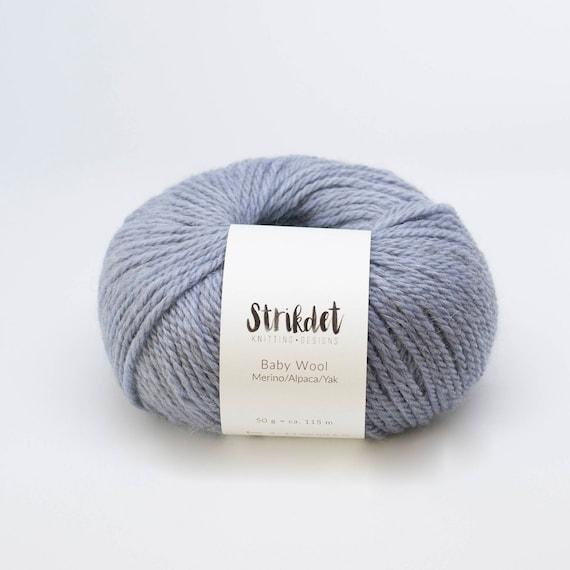 STRIKDET Baby Wool - light blue