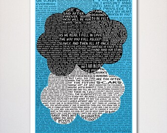 Fault in Our Stars Typography Poster