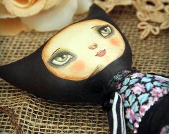 Art doll soft Kitty