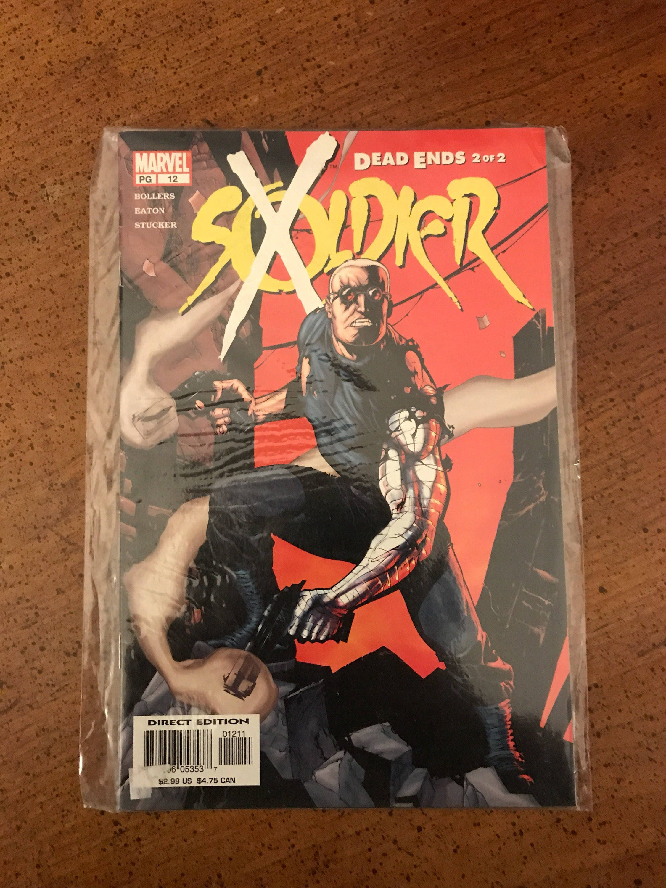 soldier x full book