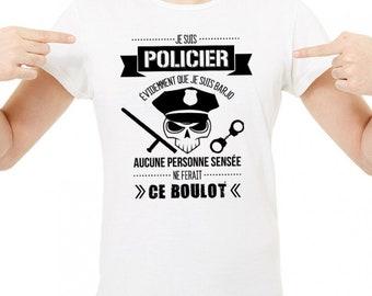 T-shirt Policier Barjo
