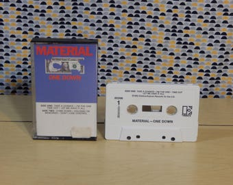 Material - One Down - Bill Laswell- Cassette tape
