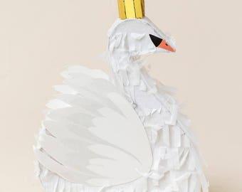 Swan Pinata Mini 7 inches Swan Princess Swan Lake