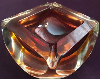Murano Sommerso Glass by Allessandro Mandruzzato