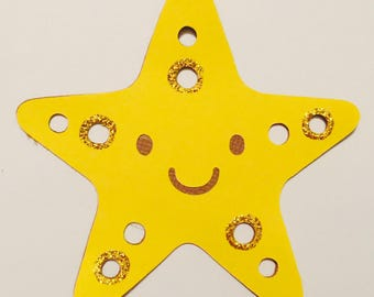 Star Fish Paper Die Cut