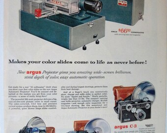105 Argus  Cameras  Ad - 1955