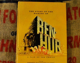 Ben Hur 1959 Hardcover Book A Tale Of The Christ VINTAGE. 1959