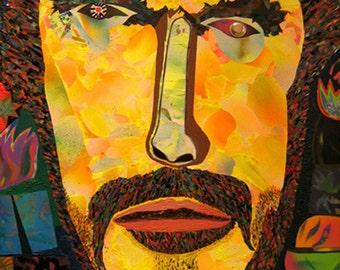 """Kurovskiy """"Toshiro Mifune"""" 2007 art magnet"""