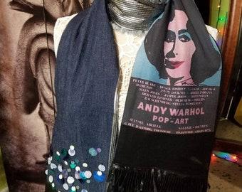 Andy Warhol Liz Scarf