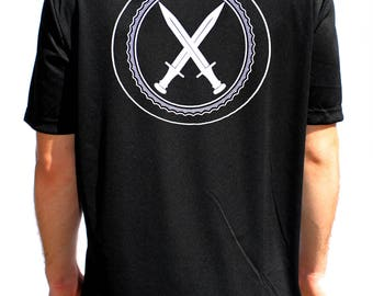 Dagger Lethal Gear Black Performance T-Shirt
