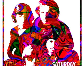 The Doors 1969 Tour Poster