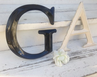 Large Letter/ Wall Decor/ Wedding Decor/ Wedding Prop/ Shabby Chic Wall Decor/ Nursery Letters/ Personalized Decor - Letters A-Z