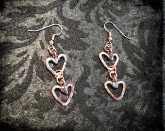 Two Little Hearts Earrings