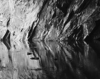 Cave reflections print