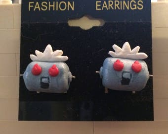 Rosie the robot earrings inspired by The Jetsons