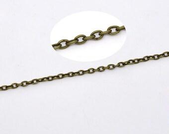 BULK - Antique Brass Chain - 32 feet - #CH08983