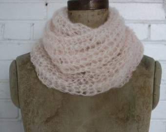 Long mohair scarf