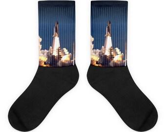 Shuttle Launch Socks