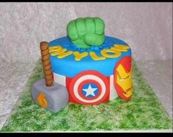 Avengers cake topper Etsy