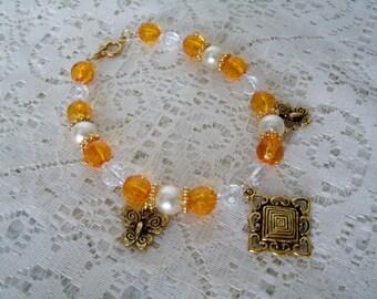 Butterfly Bracelet, boho jewelry bohemian jewelry gypsy jewelry victorian jewelry hippie pin up nature boho chic bracelet