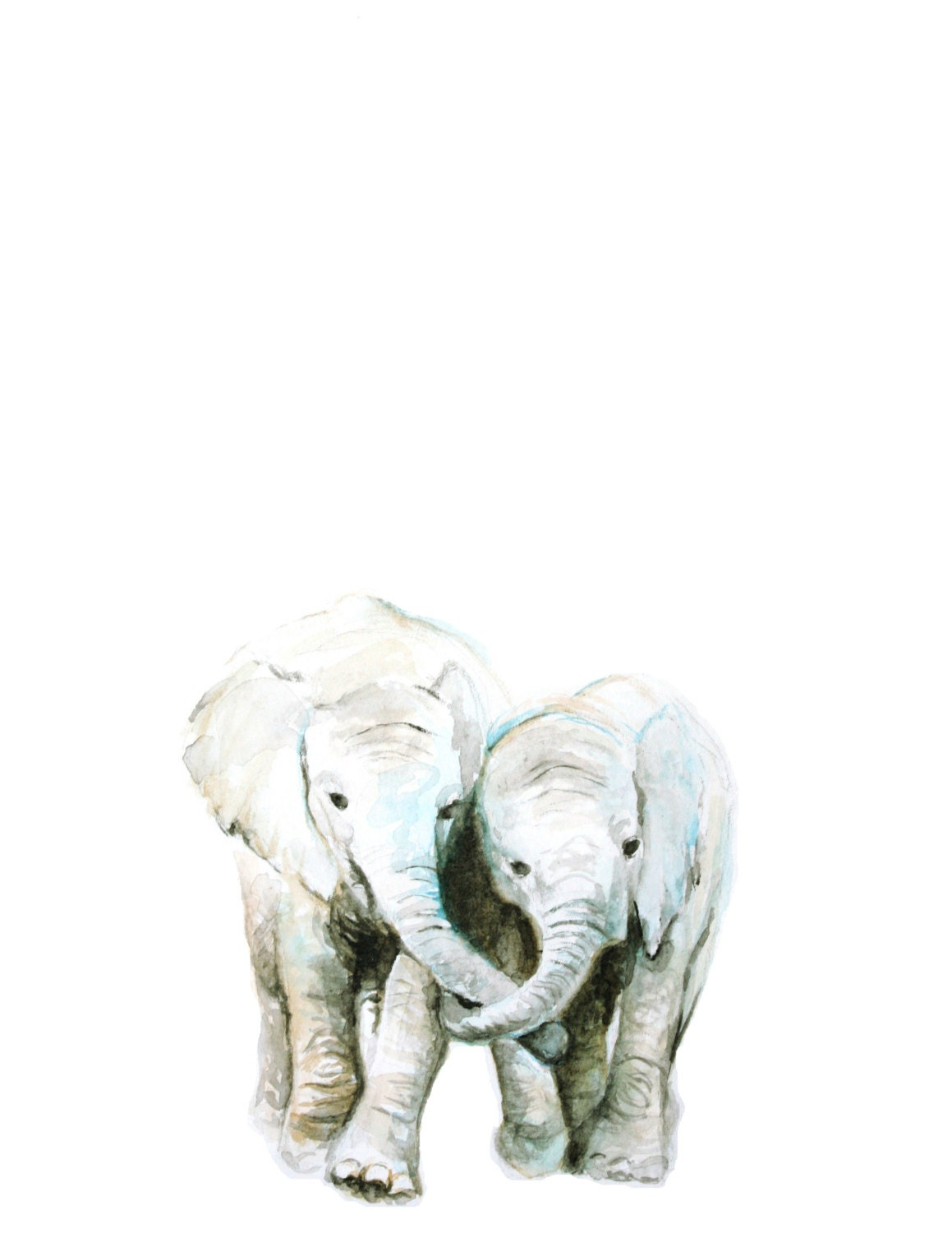 Painting Of Elephant In The Room
