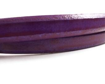 Purple Licorice Leather Cord licorice leather leather cord thick leather cord 8'' long S 40 021