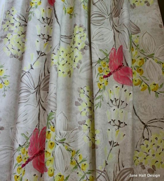 Designers guild fabric kimono blossom grey - Designers guild espana ...