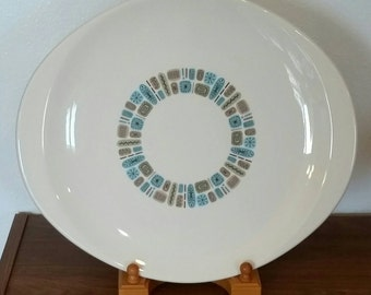 Temporama Durogloss Oval Serving Platter