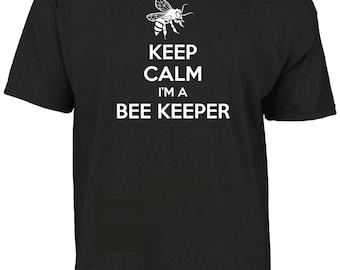Keep calm I'm a Bee keeper t-shirt