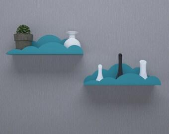 Metal Cloud Shelf , Shelves For Nursery