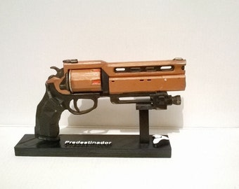 Customized replica  pistol inspired in Fatebringer 3D printed