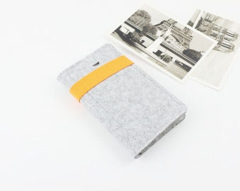 Felt iphone 7 case Galaxy S9 Plus case, Galaxy Note8 Sleeve, iPhone Case, iphone 7 sleeve, iPhone 8, iPhone 8 Plus case, iPhone X case 117LG