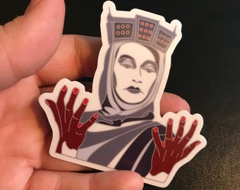 Lady Macbeth Sticker (Die Cut)