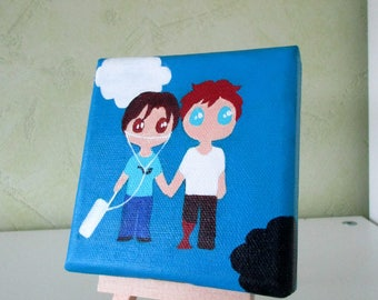 The fault in our stars - Mini painting