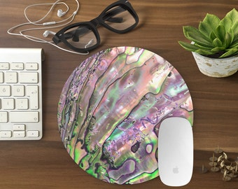 Mouse Pad Abalone shell, Abalone Mousepad, Mouse Mat print Mouse Pad Office Mousemat Rectangular Mousemat mouse pad abalone shell- T80392