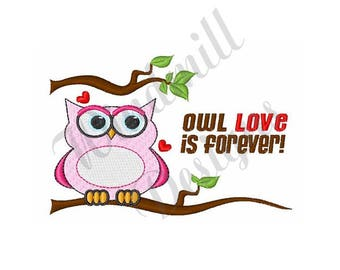 Our Love Is Forever - Machine Embroidery Design