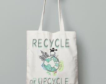 Eco friendly bag, environmental friendly bags, ecological bag, recycled bag,canvas tote bag, upcycle bag, eco friendly gifts,earth day gifts