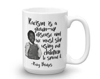 Women's History Month Inspirational Coffee Mug - Anti Racism Teacher Gift