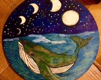 Humpback Whale and the Moons Soundhole